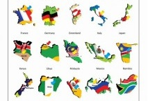 Flashcards - Country and flags