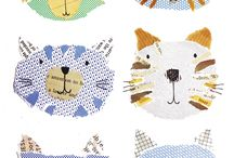 Cats in art and sewing