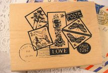 rubber stamps / by Roxanne Bowerman