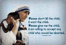 Mother Teresa of Calcutta / Her ACTIONS during her life here on earth, spoke louder than words ! / by MLynn Necaise