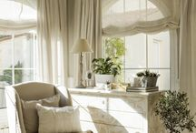 Window dressing for living rooms