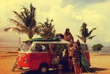 i'llseesummeragain / short shorts, glasses, sun, beach