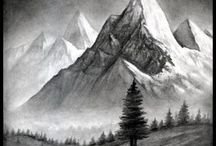 montaña y valle