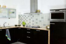 Inspiratie en toepassingen / Op dit bord plaatsen we foto's van onze tegels toegepast in een interieur.