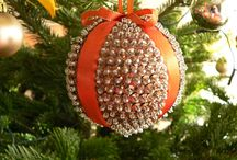 Christmas seqiun baubles / Handmade sequin baubles