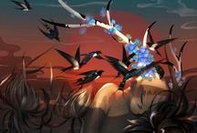Ilustraciones de Aves
