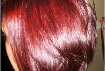 red henna hair