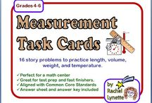 Grade 4 Measurement / Math ... Find any cool ideas or lessons we can do?