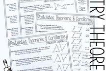Equations & theorems