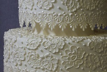 Cake- Appliques -Moulds / oooh they're so gorgeous! molded figures (of fondant or chocolate etc.), flowers, or scroll work placed delicately onto the cake...just amazing and beautiful!  / by pc brown