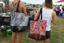 Out and About, WHERE we take our bags / www.simplysjo.com wants to see where in the world you travel with your Sarahjanes Oilcloth bags/totes and cosmetic bags...