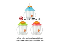 Pin It to Win It! / Create your own Innobaby Pin to Win pinboard featuring at least 4 of your favorite Innobaby products and win our new Sippin' Smart ez flow straw sippy cup! (Entries vaild now through September 17, 2012, visit https://www.innobaby.com/blog.asp for full rules and details)