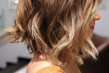 Hairstyle : Wavy bobs