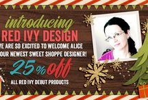 Red Ivy Design Products / Whimsical, fun and cute digital scrapbook designs for your memory keeping.
