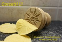 Corzetti or Croxetti | Fresh Pasta / Today Mama Isa exclaims Corzetti at Mama Isa's Cooking Classes in Venice area Italy! More info about this old pasta on http://mamaisacookingclassesinvenicearea.blogspot.com/2014/02/corzetti-photo-courtesy-of-mama-isas.html LIKE or SHARE with your friends! #freshpasta #isacookinpadua #cookingclassesvenice #pasta #italianfood #corzetti