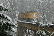 trains in nature