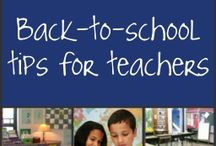 BACK TO SCHOOL IDEAS / IDEAS FOR PARENTS AND TEACHERS AS WE GET READY FOR BACK TO SCHOOL
