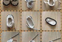 chaussures  crochets