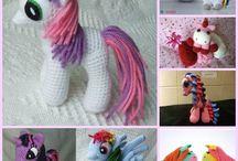 Crochet Amigurumi (horses)