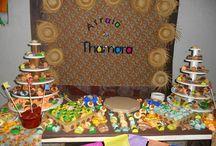 Decoração tema Festa Junina / Decoração de aniversário com tema de Festa Junina