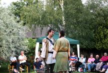 Open Air Theatre - Robin Hood: Spirit of Sherwood / On 12 and 13 July 2014, Chameleon's Web Theatre Company delighted us with a double show of Robin Hood: Spirit of Sherwood in our beautiful garden. Needless to say, it was a success!