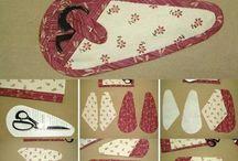 Scissors case quilt