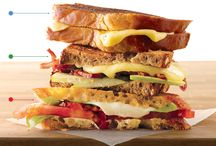 Panini's and other sandwiches / by Sherry Tysver
