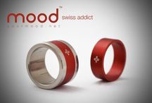 Swiss made Rings - mood collection