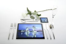Make you own stunning glass placmat / How to make you own stunning glass place mats and coaters - www.innovamill.com