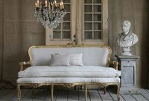 """Fabulous French / Ooh la la! Be inspired by the glamour and elegance of sophisticated Parisian decor and French flea market chic. 55 Downing Street is sourcing design ideas and inspiration from the City of Light to add that certain """"je ne sais quois"""" to your home.  / by 55 Downing Street"""