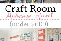 Craft Room Inspiration / Do you dream of the most amazing craft room! I built my dream craft room and I am sharing it with you plus photos of my favorite craft rooms from other crafters.