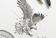 tatuagem águia