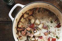 la soupe, le bouillon, le potage / soup, duh. / by Nicole DiGeronimo