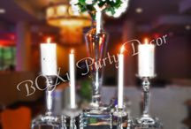 Centerpieces / Centerpieces provide the wow factor to your Event