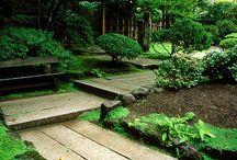 1. Green garden room