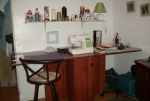 My Sewing/Craft Table Area.