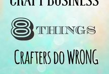 CRAFT Business advice/Crafter Interviews / Craft business, crafter interviews