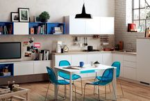 Living Easy  / Design by Scavolini | An open-space room with a multipurpose living area / by Scavolini