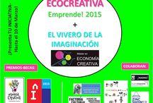 Ecocreativa Emprende! 2015 / 3º premio de la 4ª Edición de Ecocreativa Emprende! Una iniciativa del Máster de Economía Creativa de la Universidad Rey Juan Carlos, para promover el emprendimiento cultural y creativo.  Ahora paso a formar parte del Vivero de la Imaginación y formaré parte del Stand español del Festival In de Creatividad de Lisboa.