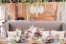 Reception Flower ideas.
