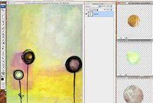 digital art journaling / by Kelly Kliman