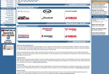 Marine Consignment / design research for marine product catalog web site