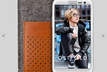 Samsung SIII wool & leather case / Wool & leather cases for Samsung SIII handcrafted in Silesia