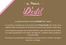 Premi de la Revista 'D'Estil.