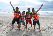 pantai santolo bali indonesia