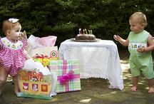 Party Time! Birthday Collection / Smocked and applique birthday outfits for children 3M-6 years