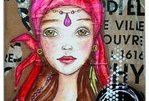 Art Journal: Ladies / by Svetlana Davidova