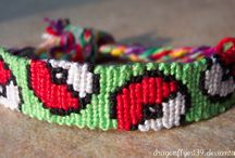 embroidery thread bracelets