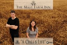 "A Chef's Life • PBS / The Mast Farm Inn is honored to be an Official Sponsor of ""A Chef's Life"" on PBS www.achefslifeseries.com • www.themastfarminn.com"