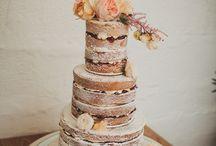 creative boho wedding cakes